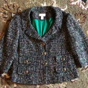 Loft tweed jacket size 10